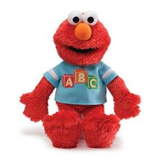 Sesame Street ABC Elmo Talking 15-Inch Plush #plush