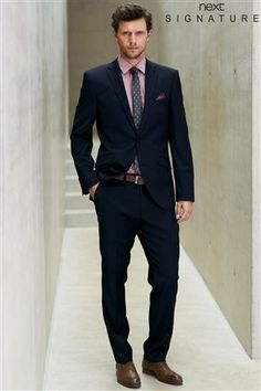 ASOS Slim Fit Suit in Navy Poplin | Suits | Pinterest | ASOS, Slim ...