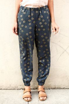 Luna Pants Sewing Pattern PDF                                                                                                                                                      More