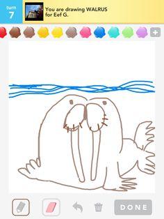 Walrus Draw Something
