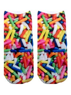 Sprinkle socks: http://shop.nylonmag.com/collections/whats-new/products/sprinkle-socks #NYLONshop