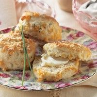Herby Provolone Scones Recipe - Bon Appétit