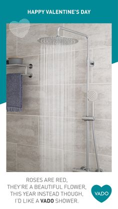 VADO is a leading British bathroom brassware manufacturer providing high quality taps, showers, accessories and fittings to customers across the globe. British Bathroom, Valentines Day Puns, Bathroom Taps, Valentino, Bathtub, Shower, Happy, Bath Tube, Bath Tub