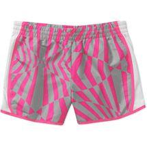 b389c15216cdf Danskin Now - Danskin Now Women s Printed Woven Running Shorts - Walmart.com