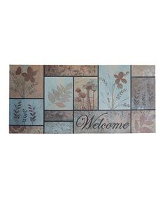 Another great find on #zulily! Blue Horizons Flora Doormat by Mohawk Home #zulilyfinds