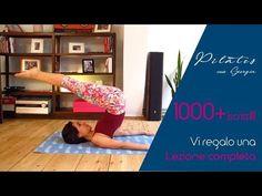 Pilates con Giorgia - 1000+ - Lezione completa - YouTube