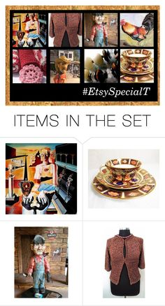 """""""Warm Tones @specialT"""" by rescuedofferings ❤ liked on Polyvore featuring art, integrityTT and EtsySpecialT"""