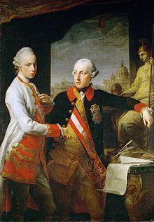 Leopold II. (* 5. Mai 1747 in Wien; † 1. März 1792 ebenda) war Erzherzog von Österreich aus dem Haus Habsburg-Lothringen, von 1765 bis 1790 (als Peter Leopold) Großherzog der Toskana sowie von 1790 bis 1792 Kaiser des Heiligen Römischen Reiches und König von Böhmen, Kroatien und Ungarn.
