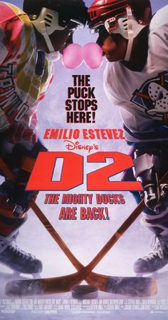 Directed by Sam Weisman.  With Emilio Estevez, Kathryn Erbe, Michael Tucker, Jan Rubes. Gordon Bombay is forced to withdraw from the minor hockey league with a knee injury. Much to his surprise, he is given the job of coach of Team USA Hockey for the Junior Goodwill Games in California. With most of the Ducks and a few new players in tow, he sets forth for LA. All appears to be going well for a while, but the hype of Hollywood starts to get to Gordon, and he is distracted when ...