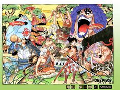 Eiichiro Oda. One Piece.