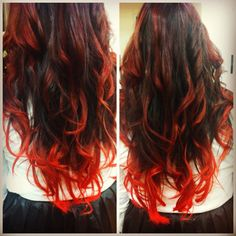 natural auburn ombre hair - Google Search
