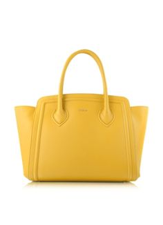 Furla College Large Leather Tote