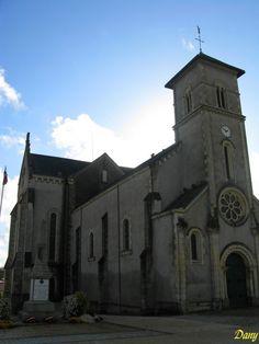 église st Andre. La Roche sur Yon Pays de Loire