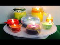 Aprenda a hacer Velas Perfumadas sin Cera - YouTube
