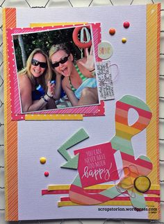 Sunshine and Happiness, Simple Stories April Challenge, Simple Stories, Scrapbooking Layouts, Sunshine, Happiness, Create, Paper, Inspiration, Art