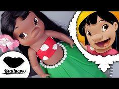 Lilo Doll Cake | Lilo and Stitch | Disney | How To - YouTube