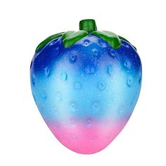 Jumbo Galaxy Strawberry Scented Squishy Charm Slow Rising Stress Reliever Toy Antistress Funny Gadgets Electronicos Fashionable In Style;