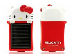 Portable Solar Charger for iPhone...Hello Kitty!