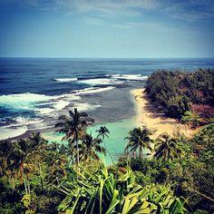 Kalalau Hiking Trail in Hanalei, #Hawaii #travel