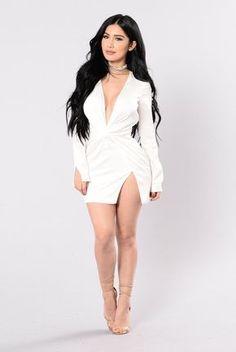 Sugar Free Dress - White