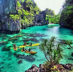 Take your trip with Glamulet charmsBig Lagoon, El Nido, Palawan, Philippines. Talk about my plans for travel my savings goals and about what I have planned to do in the Phillipines Les Philippines, Philippines Travel, Philippines Palawan, Places To Travel, Places To See, Travel Destinations, Dream Vacations, Vacation Spots, Photos Voyages