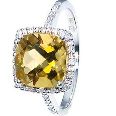 love yellow topaz ... my birthstone!