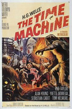 The Time Machine 11x17 Movie Poster (1960)