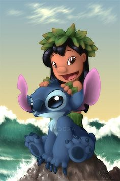 "✶ ""Lillo and Stitch"" Where I belong ★"
