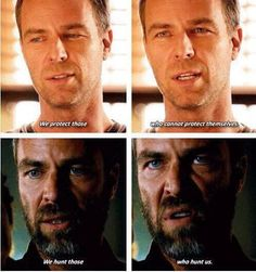 Chris Argent | speak the code | teen wolf