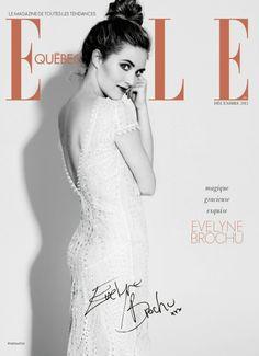 Evelyne Brochu - Elle Quebec, December 2013