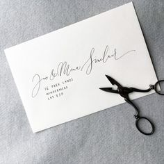 A modern, chic organic calligraphy invite on the finest textured Italian card. Every word is handwritten; every letter is carefully crafted to present the most exquisite invitations for your intimate wedding.  Hand torn watercolour card gives an intimacy and softness to your invites. Theyre perfect for a relaxed, informal or rustic celebration with a contemporary edge. The clematis sketch evokes the romance of summer and hints at a floral celebration with beauty and style.  Calligraphy is…