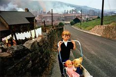 An Ideal for Living: Beetles & Huxley opens group exhibition.Bruce Davidson, Child with Pram, from 'Welsh Miners', 1965. ©Magnum