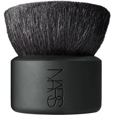 NARS Women's Kabuki Botan Brush ($70) ❤ liked on Polyvore featuring beauty products, makeup, makeup tools, makeup brushes, fillers, beauty, black fillers, accessories, colorless and nars cosmetics