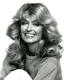 Feathered hair - Every girl in the 70's wanted to have Farrah's hair.