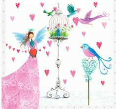 mila marquis art | Mila Marquis : Oiseau avec Cage