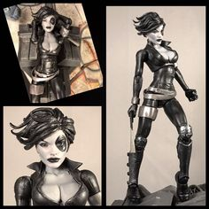 This is a custom of x-men/x-forces Domino. 6 inches tall and goes great with the rest of the Marvel Legends . Payment must be made within 3 days of the auction ending, unless agreed upon. | eBay!