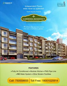 Paarth Infrabuild comes up with 3 & 4 BHK apartments at GARDENIA RESIDENCY