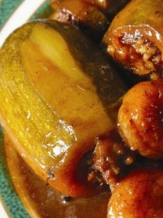 Mehshi Kusa — Squash Stuffed with Ground Meat and Rice