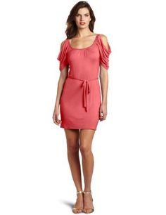 Wrapper Women's Cold Shoulder Rayon Dress, Dark Coral, X-Large Wrapper,http://www.amazon.com/dp/B006ZU6IDC/ref=cm_sw_r_pi_dp_gU7wrb1TQQ7WBTRC