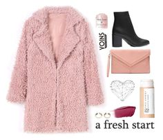 """Yoins 2.1"" by katerina-rampota ❤ liked on Polyvore featuring Hourglass Cosmetics and WALL"