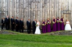 Wedding gowns and bridal fashions for a rustic chic wedding at the Historic Barns of Nipmoose. Brian Haynes Photography