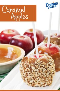 This DIY caramel apple recipe makes fall festivities fun for the whole family.