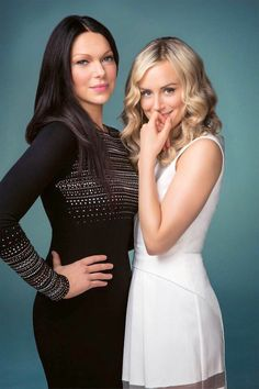 Laura Prepon and Taylor Schilling