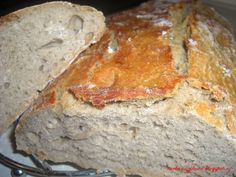 Domaci chlieb bez hnetenia Slovak Recipes, Czech Recipes, Russian Recipes, Food Items, Pain, Banana Bread, Bakery, Recipies, Cooking Recipes