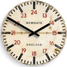 Underground Station Clock 55 Pounds British