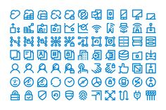 forma_dell_icons_01 Letter E, Graphic Design Projects, Pictogram, Icon Set, Icon Design, Behance, Game Ui, Infographics, Outline