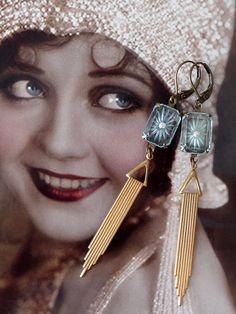 Annette Earrings (SD0742) by Sandrine Devost #sandrinedevost #vintage #jewelry