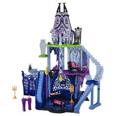 Monster High Freaky Fusion Catacombs Kids Toy Castle Playset DollHouse Gift New Monster High School, Monster High Birthday, Monster High Dollhouse, Monster High Dolls, Mattel Shop, Mattel Dolls, Monster High Collection, Howleen Wolf, Personajes Monster High