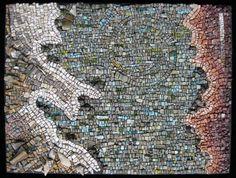 "Rachel Sager ""Oceanus Occidentalis"" mosaic"