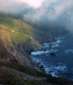 Coastal Fog, Pirates Cove, Golden Gate National Recreation Area, Marin County, California